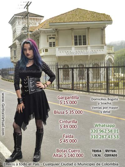 prendas atuendos goticos vampiros ropa trajes baratos soacha clan dark oscuras halloween rock venecia restrepo chapinero