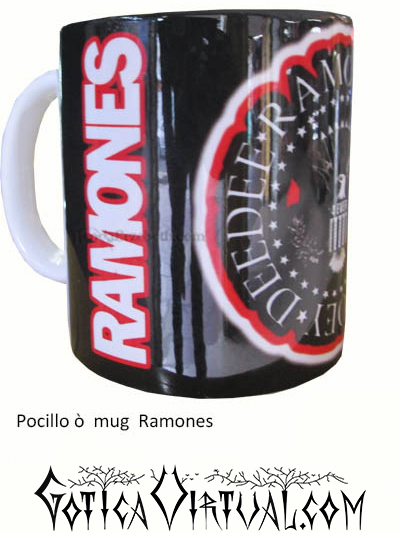 ramones punk rock mug thrash estilo articulos heavy mug metal venta metaleras bogota medellin manizales death black thrash accesorios cali