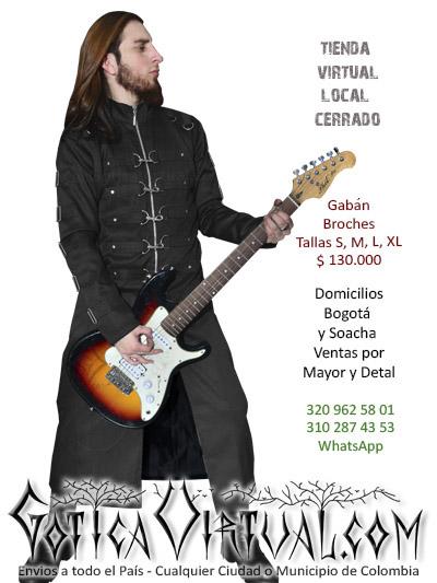 gaban broches masculino tienda online rock metal bogota quindio pereira manizales cesar tolima colombia