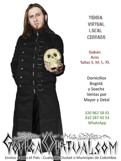 gaban aros masculino tienda online rock metal bogota cesar quindio funza chia meta neiva bucaramanga colombia