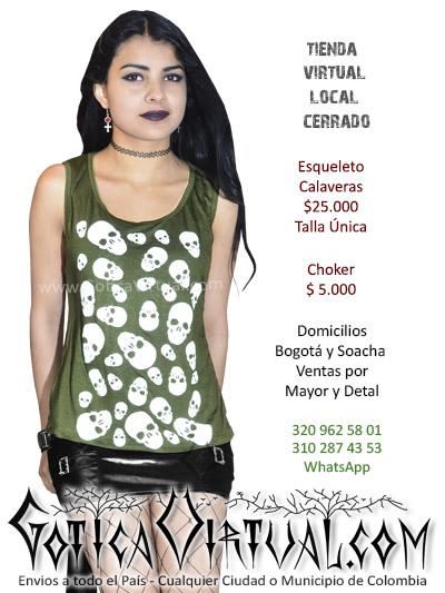 esqueleto calaveras tienda online rock metal quindio pereira cali neiva cauca santander colombia
