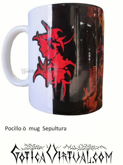 sepultura thrash estilo articulos tienda pocillo mug heavy rock metal venta gotico metaleras bogota medellin manizales black thrash accesorios cali