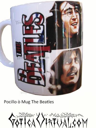 the beatles mug rock metal articulos venta gotico metaleros bogota medellin manizales death black thrash accesorios cali tienda pocillo estilo