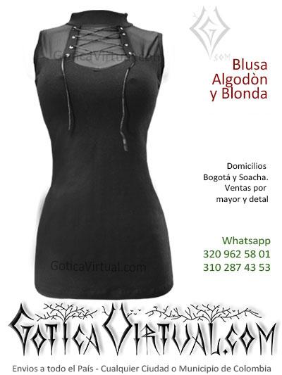 bluson algodon velo cintas frontales sexy economico cuello tortuga venta online rock metal bogota medellin caldas funza antioquia colombia