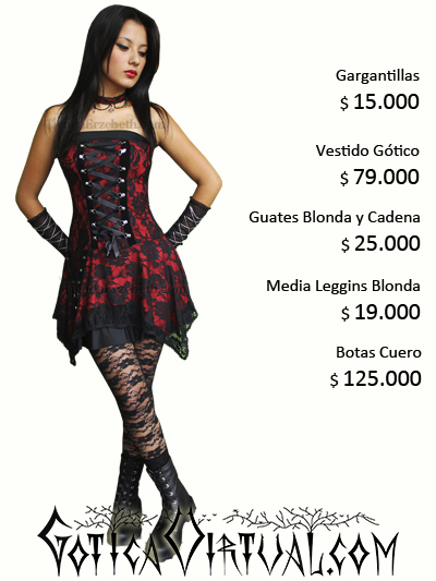vestidos bogota goticos ropa femenina envios medellin cali pasto pereira manizales tunja bucaramanga barranquilla