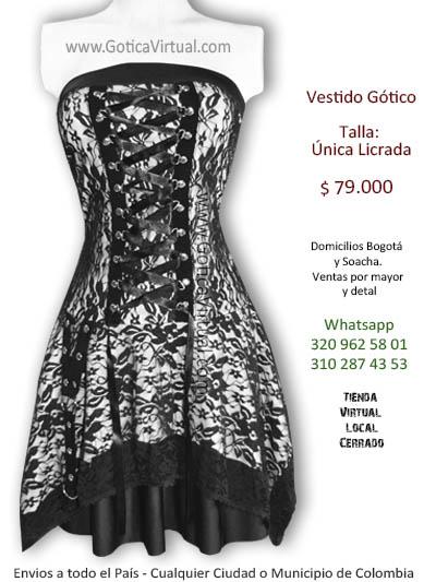 vestidos goticos tunja cucuta bucaramanga manizales yopal villavicencio ibague cartagena monteria soacha chia funza mosquera